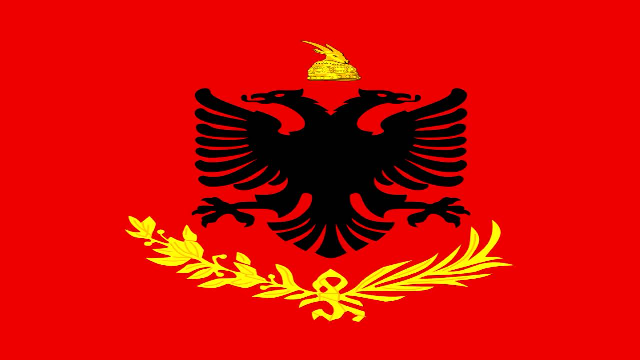 Amazing Flag Of Albania Pictures & Backgrounds