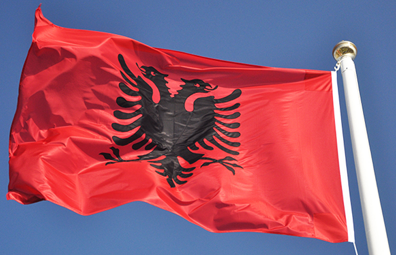 800x515 > Flag Of Albania Wallpapers