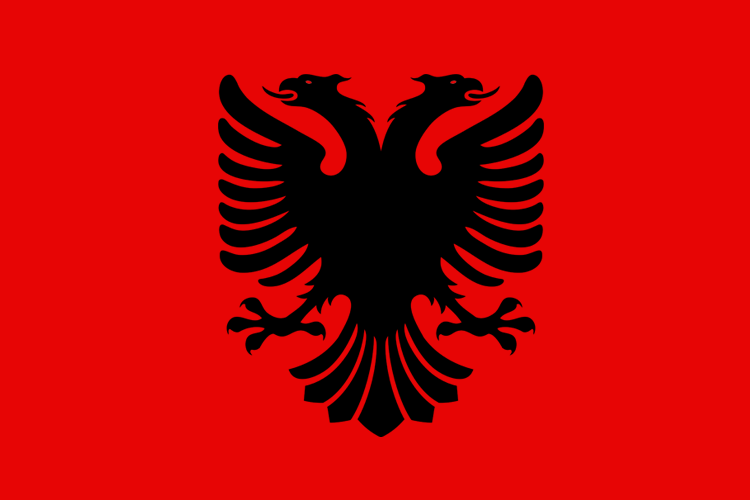 Flag Of Albania Backgrounds on Wallpapers Vista