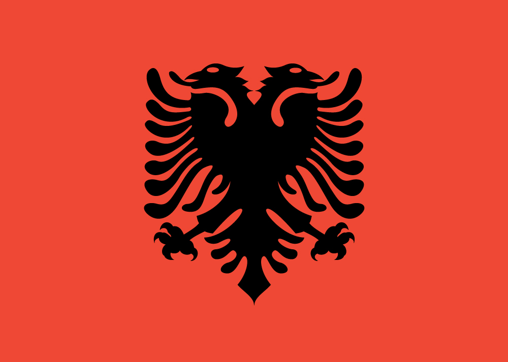 Flag Of Albania Backgrounds, Compatible - PC, Mobile, Gadgets| 1000x713 px