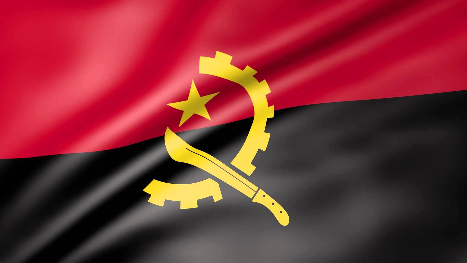 High Resolution Wallpaper | Flag Of Angola 1920x1080 px