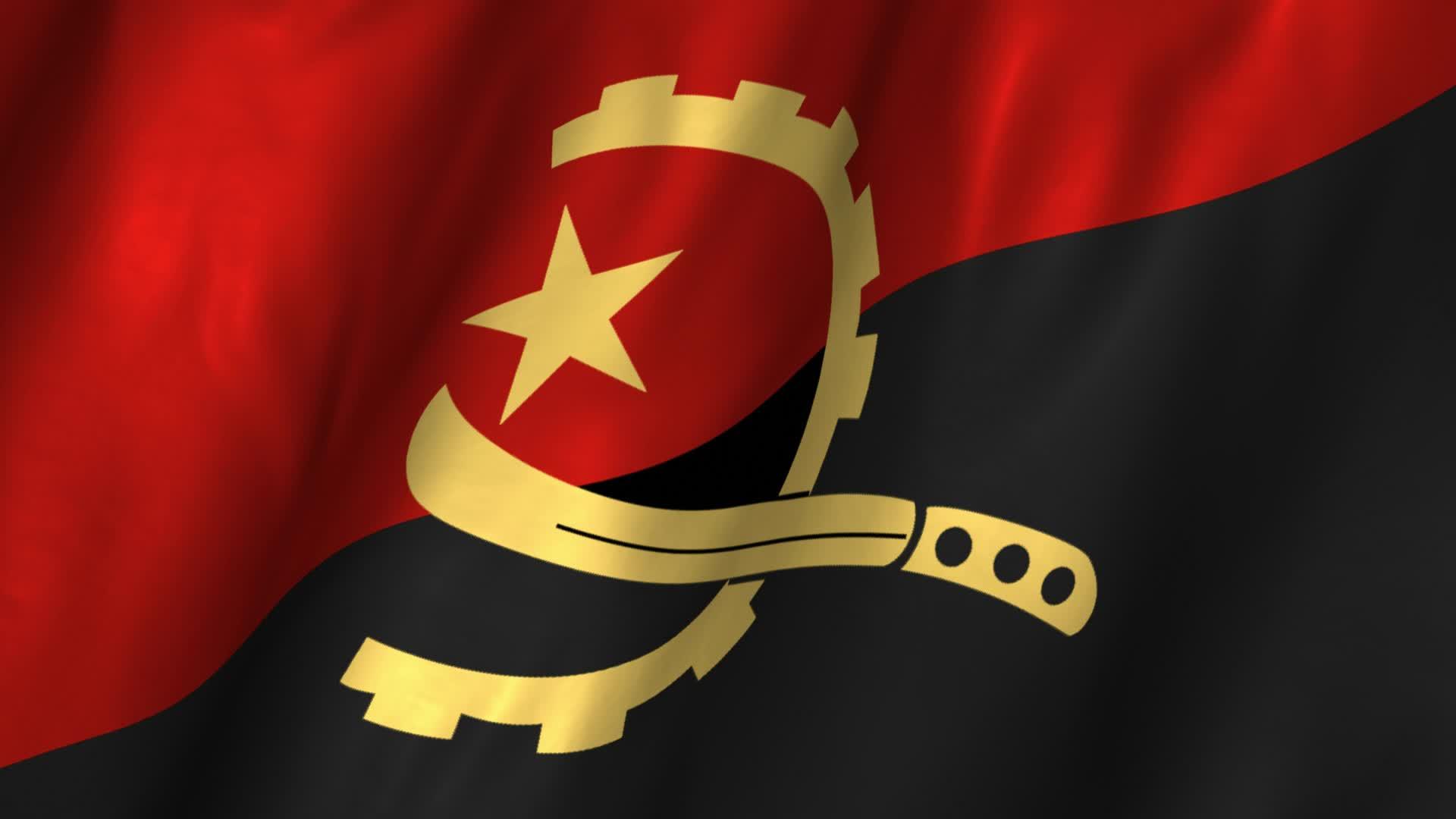 Nice wallpapers Flag Of Angola 1920x1080px