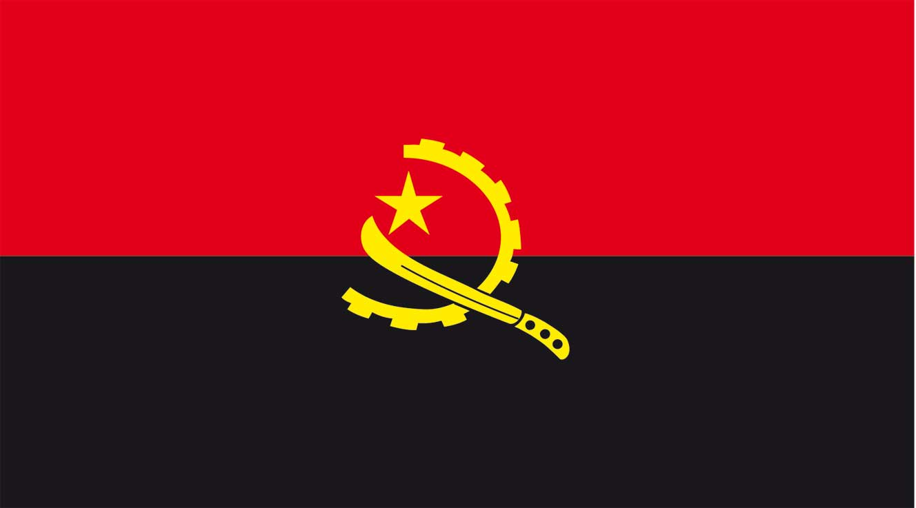 Images of Flag Of Angola | 1328x737