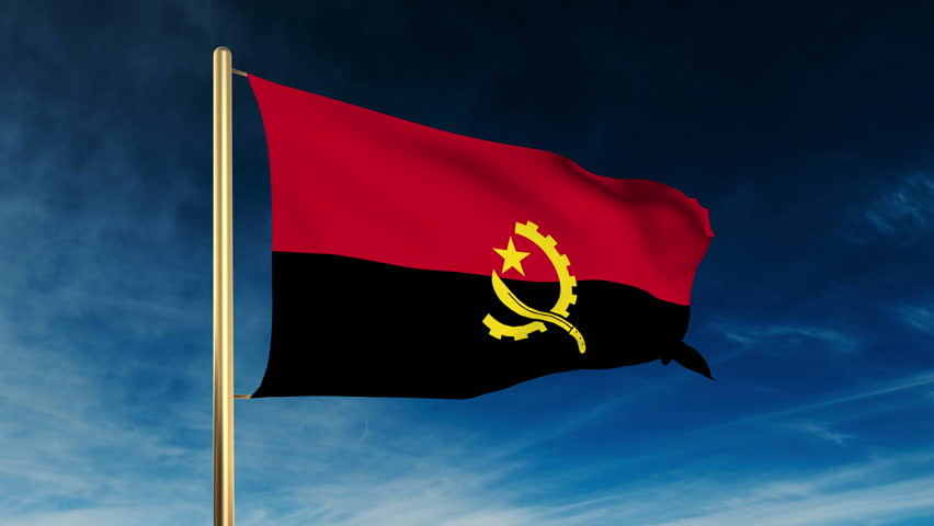 Flag Of Angola Backgrounds, Compatible - PC, Mobile, Gadgets| 852x480 px