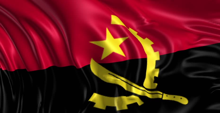 Flag Of Angola High Quality Background on Wallpapers Vista