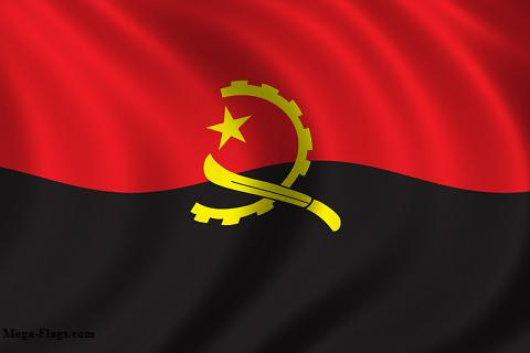 Nice Images Collection: Flag Of Angola Desktop Wallpapers