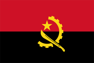 Flag Of Angola Backgrounds, Compatible - PC, Mobile, Gadgets| 320x213 px