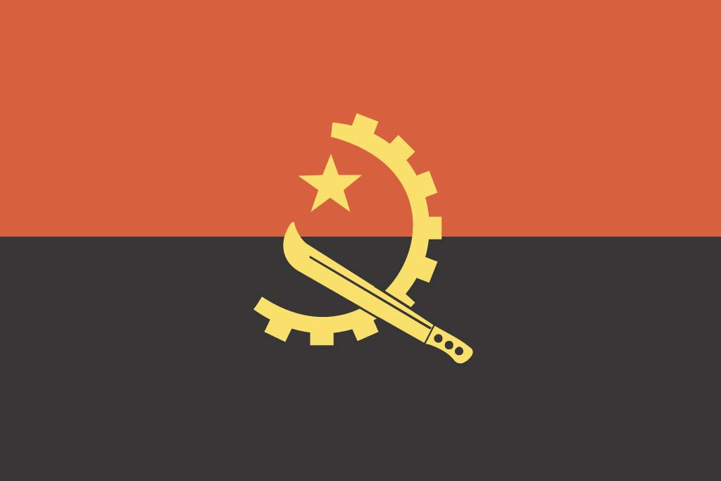Flag Of Angola Pics, Misc Collection
