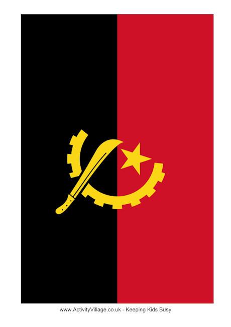 Flag Of Angola #18