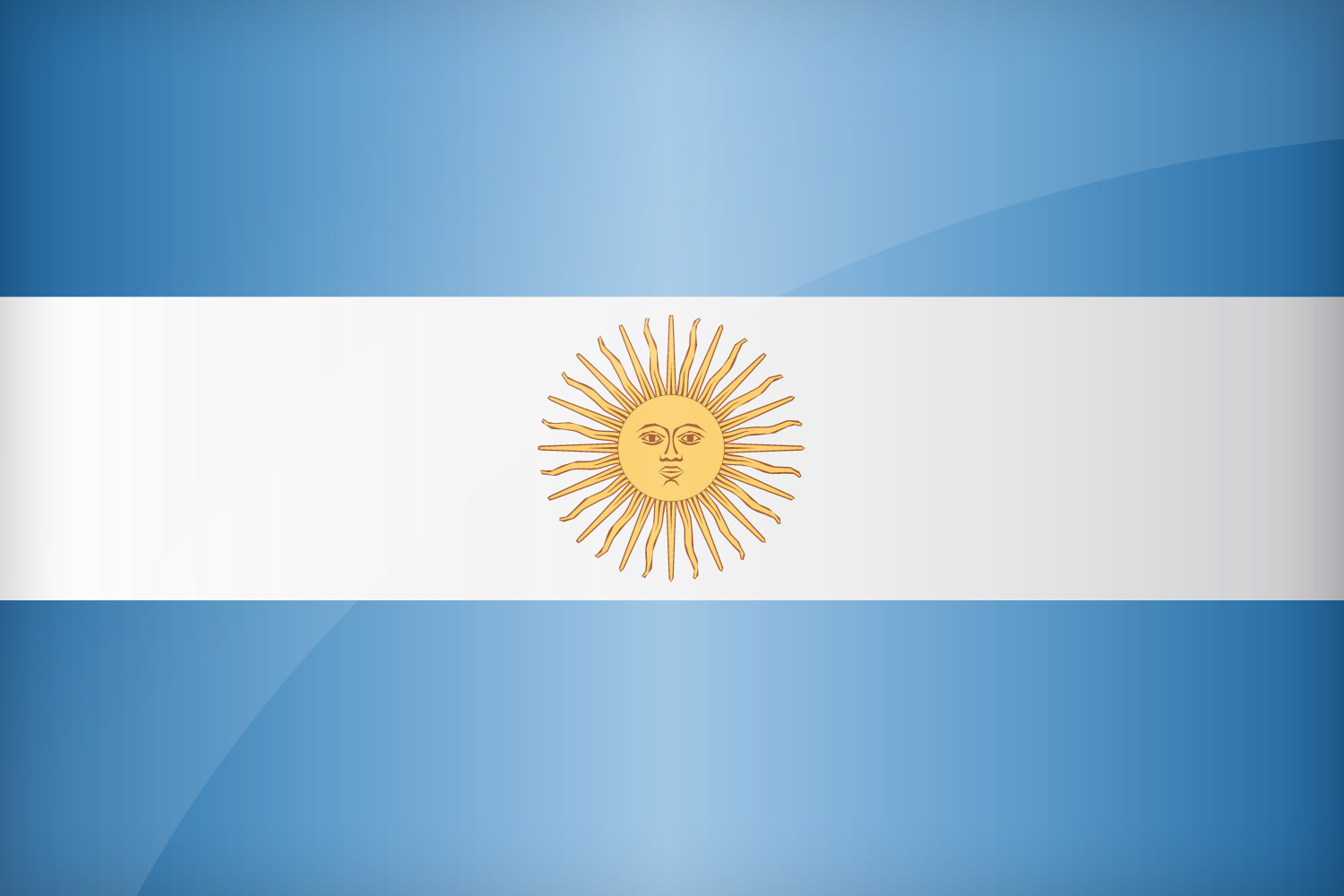 Flag Of Argentina High Quality Background on Wallpapers Vista