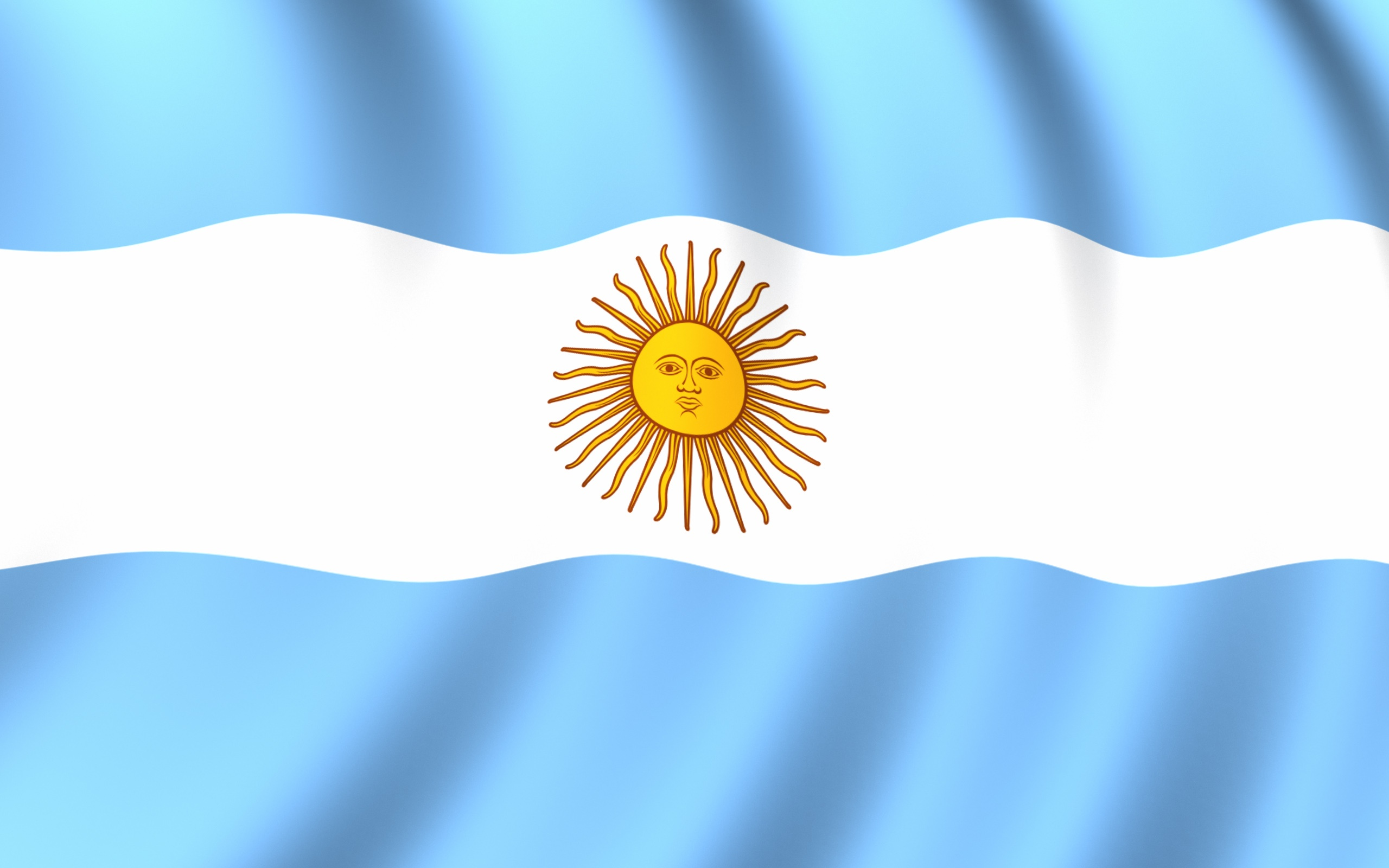 Flag Of Argentina Backgrounds, Compatible - PC, Mobile, Gadgets| 2560x1600 px