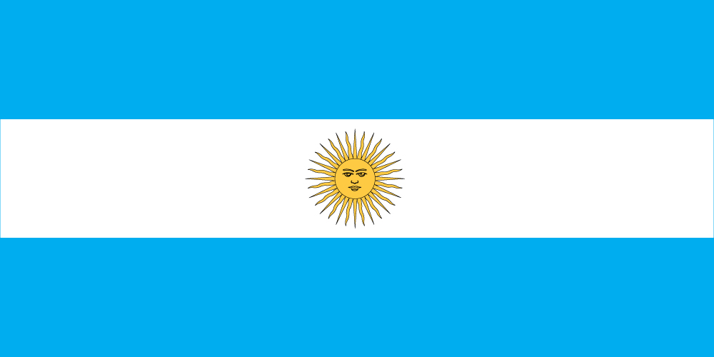 Images of Flag Of Argentina | 1000x500