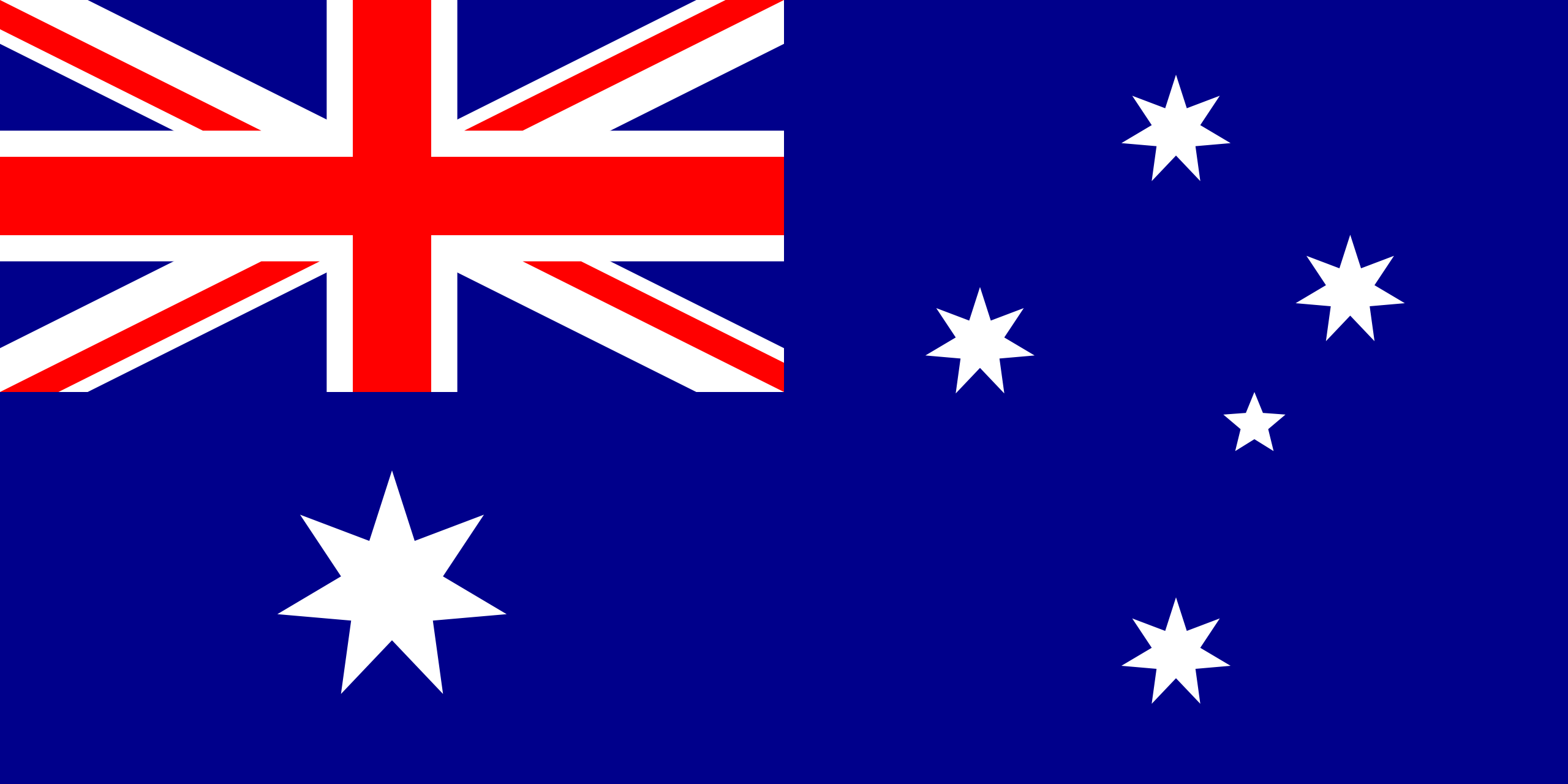 Nice wallpapers Flag Of Australia 2560x1280px