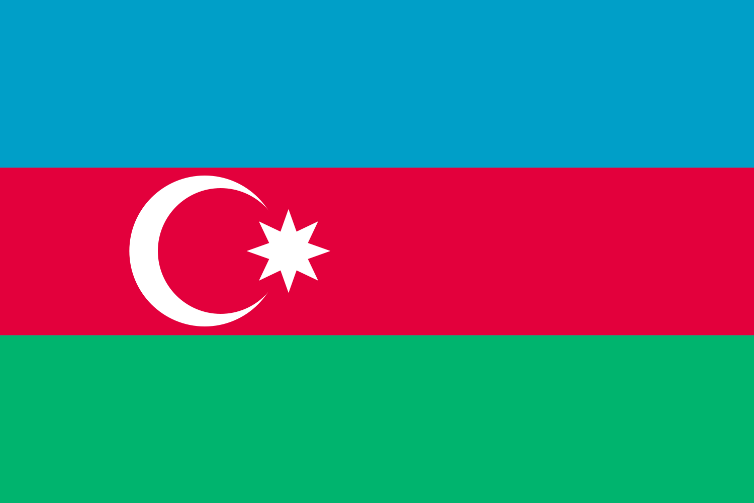 Flag Of Azerbaijan Backgrounds, Compatible - PC, Mobile, Gadgets| 1500x1000 px