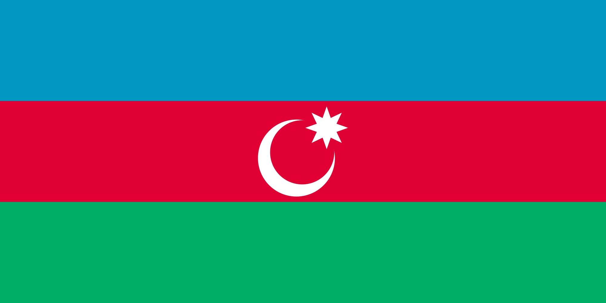 HD Quality Wallpaper | Collection: Misc, 2000x1000 Flag Of Azerbaijan