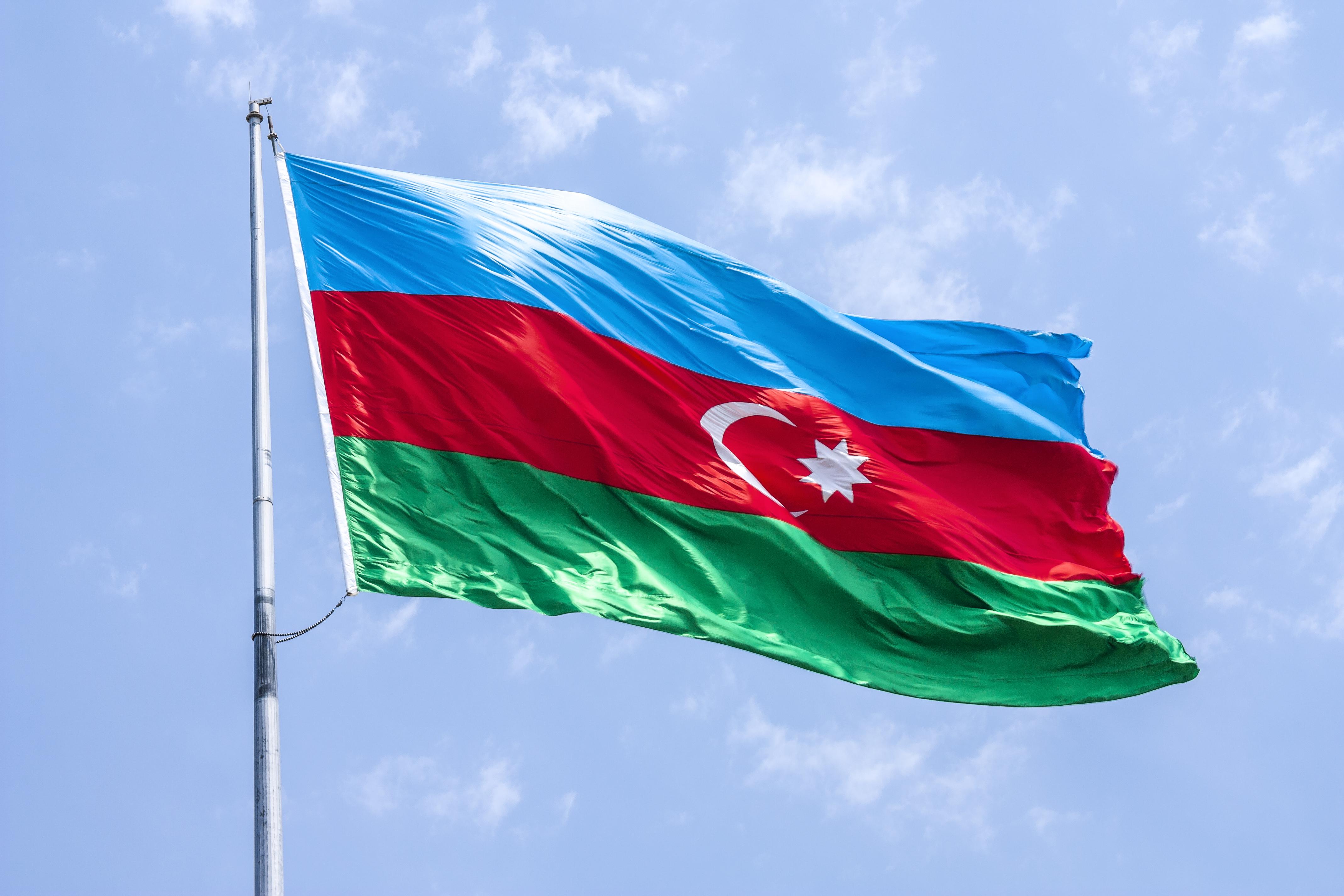 Images of Flag Of Azerbaijan | 4272x2848