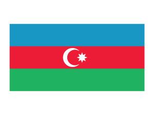 Images of Flag Of Azerbaijan | 300x225
