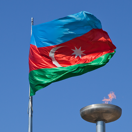 Flag Of Azerbaijan High Quality Background on Wallpapers Vista