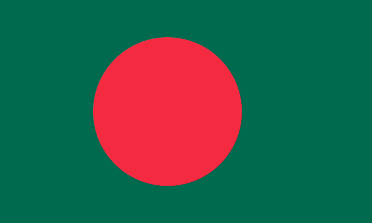High Resolution Wallpaper | Flag Of Bangladesh 1280x768 px