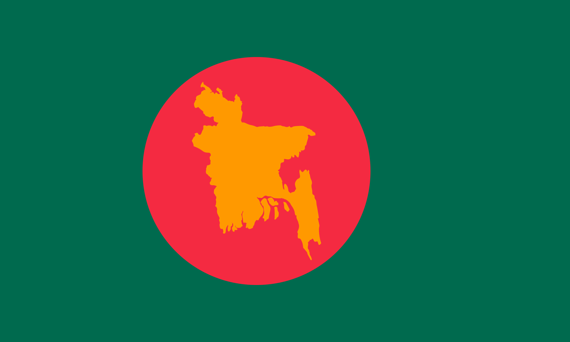 High Resolution Wallpaper | Flag Of Bangladesh 2000x1200 px