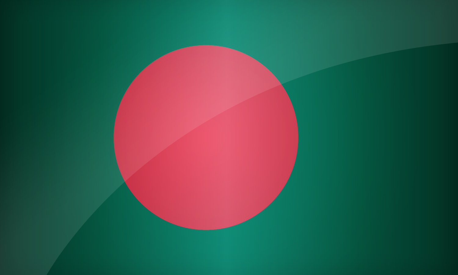 Nice wallpapers Flag Of Bangladesh 1500x900px