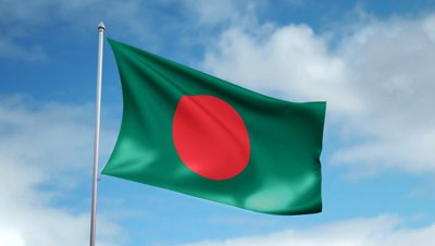 HD Quality Wallpaper | Collection: Misc, 400x226 Flag Of Bangladesh