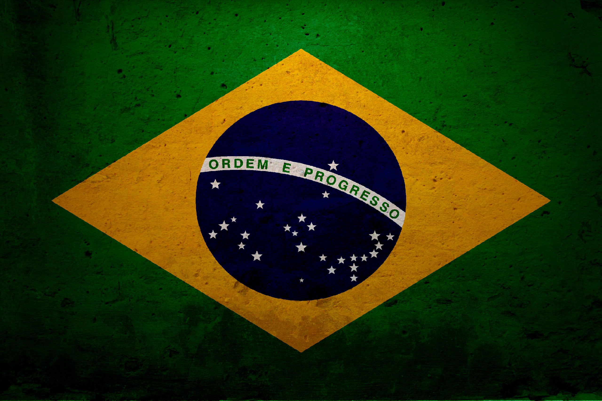 High Resolution Wallpaper   Flag Of Brazil 2560x1707 px