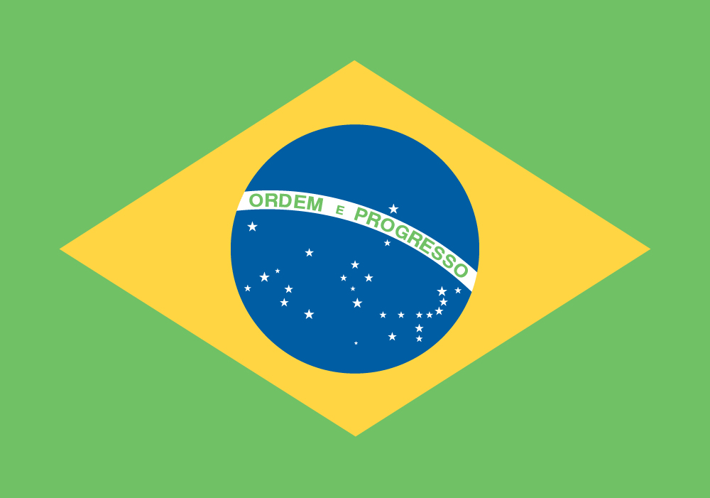 Nice wallpapers Flag Of Brazil 1000x701px