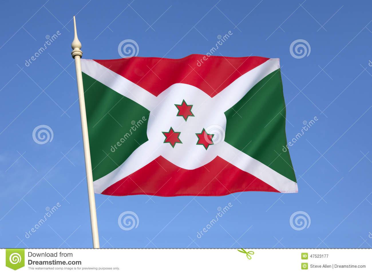 Nice Images Collection: Flag Of Burundi Desktop Wallpapers