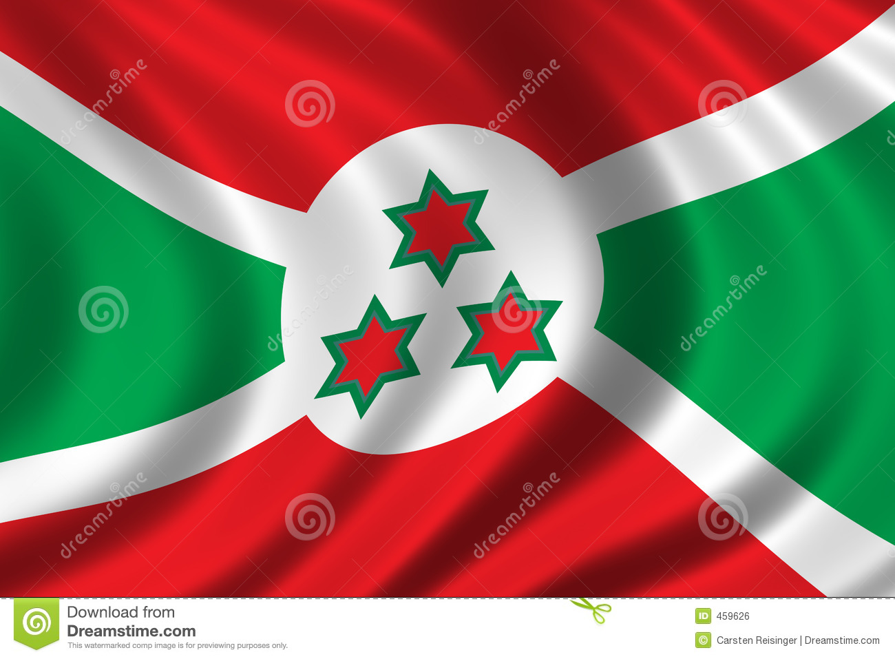 HQ Flag Of Burundi Wallpapers   File 221.07Kb