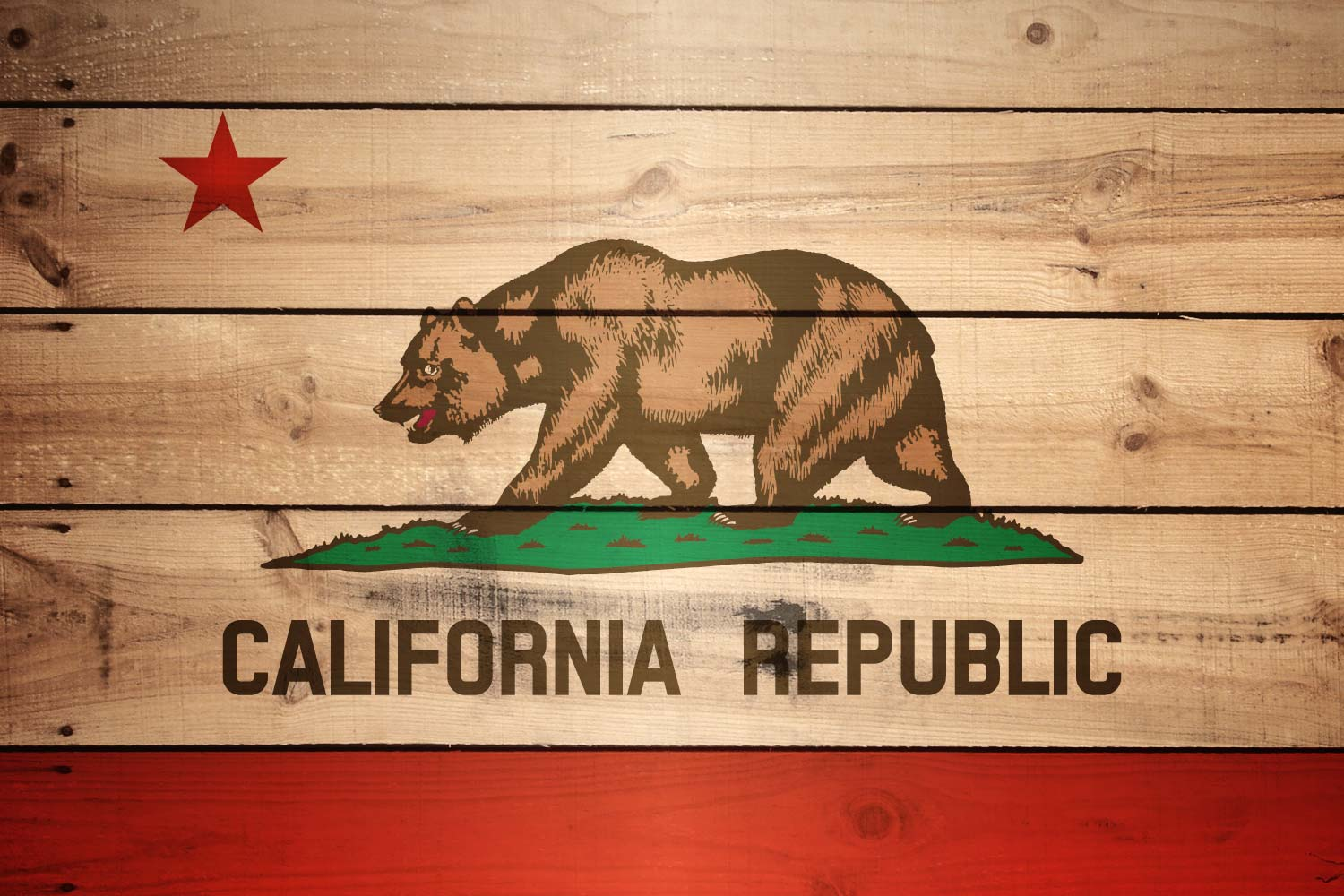 Nice wallpapers Flag Of California 1500x1000px