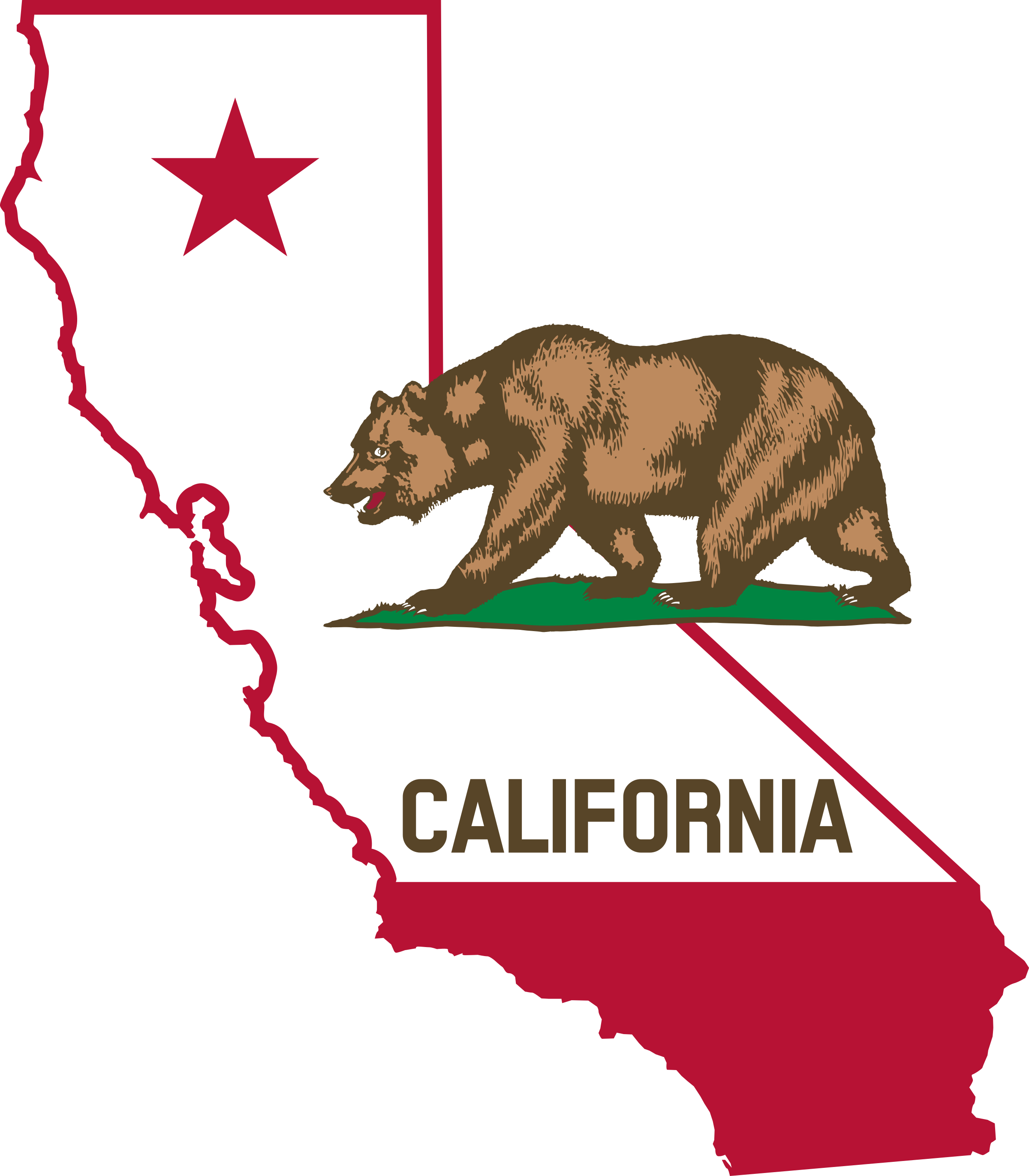 Amazing Flag Of California Pictures & Backgrounds