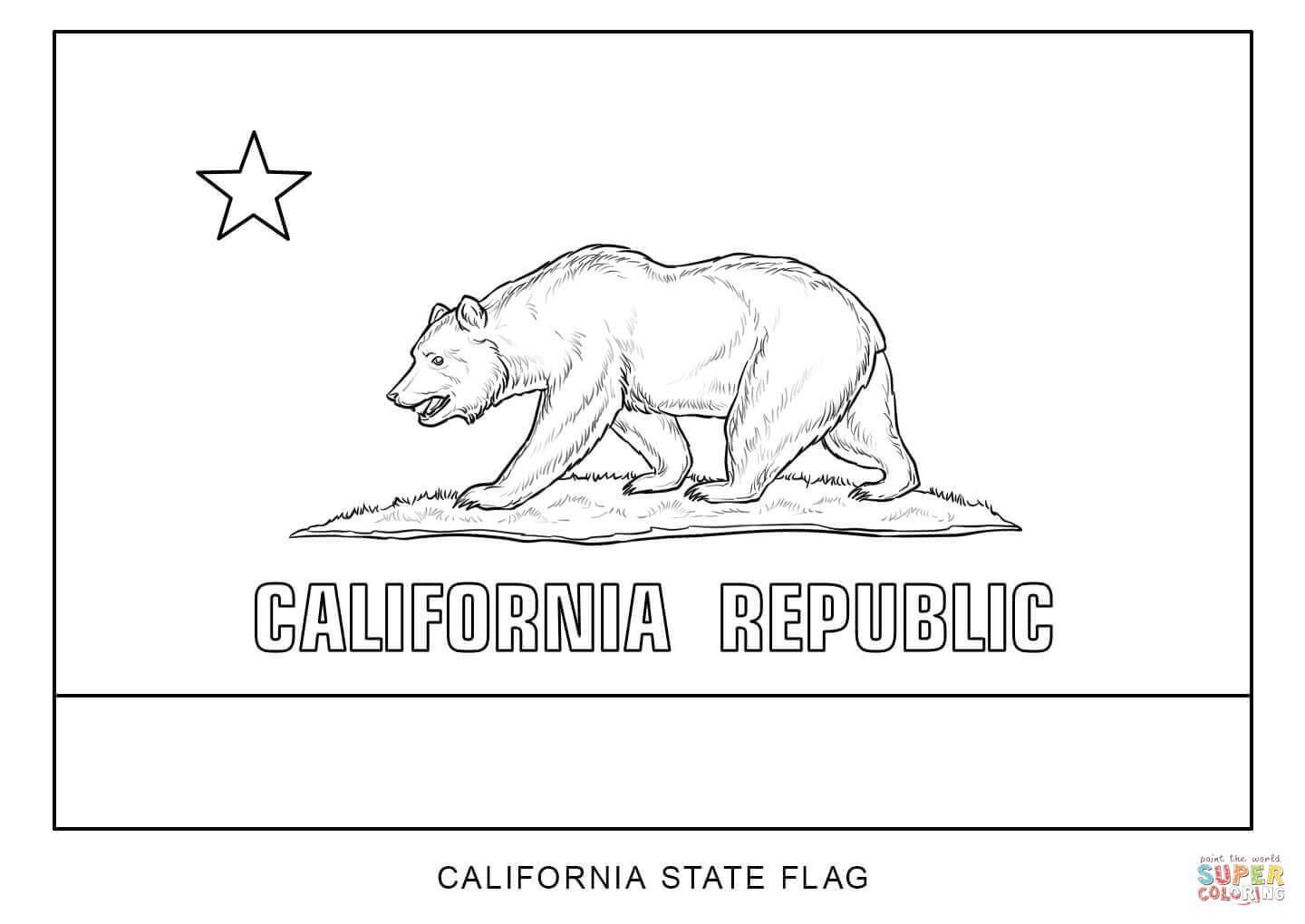 Flag Of California Pics, Misc Collection