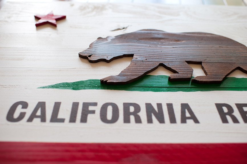 HD Quality Wallpaper | Collection: Misc, 866x576 Flag Of California