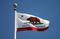 Nice wallpapers Flag Of California 200x133px