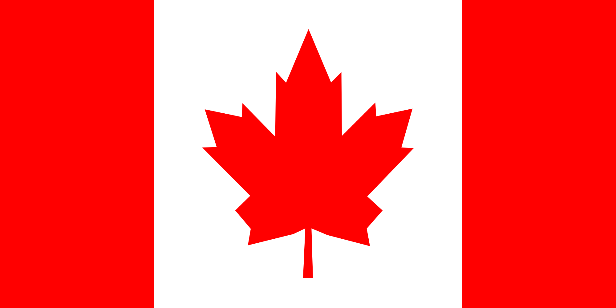 Flag Of Canada Backgrounds, Compatible - PC, Mobile, Gadgets| 2000x1000 px