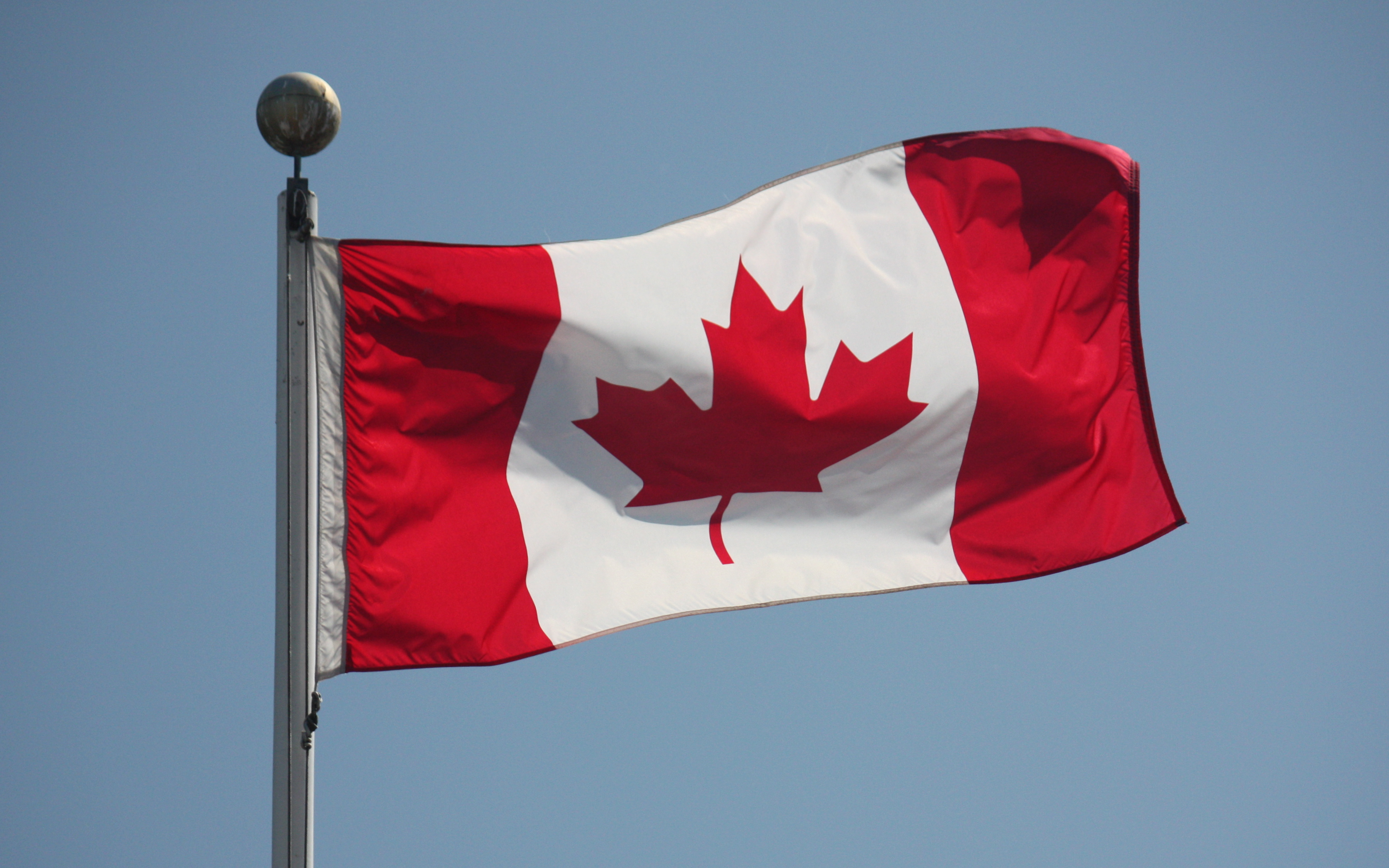 Flag Of Canada Backgrounds on Wallpapers Vista