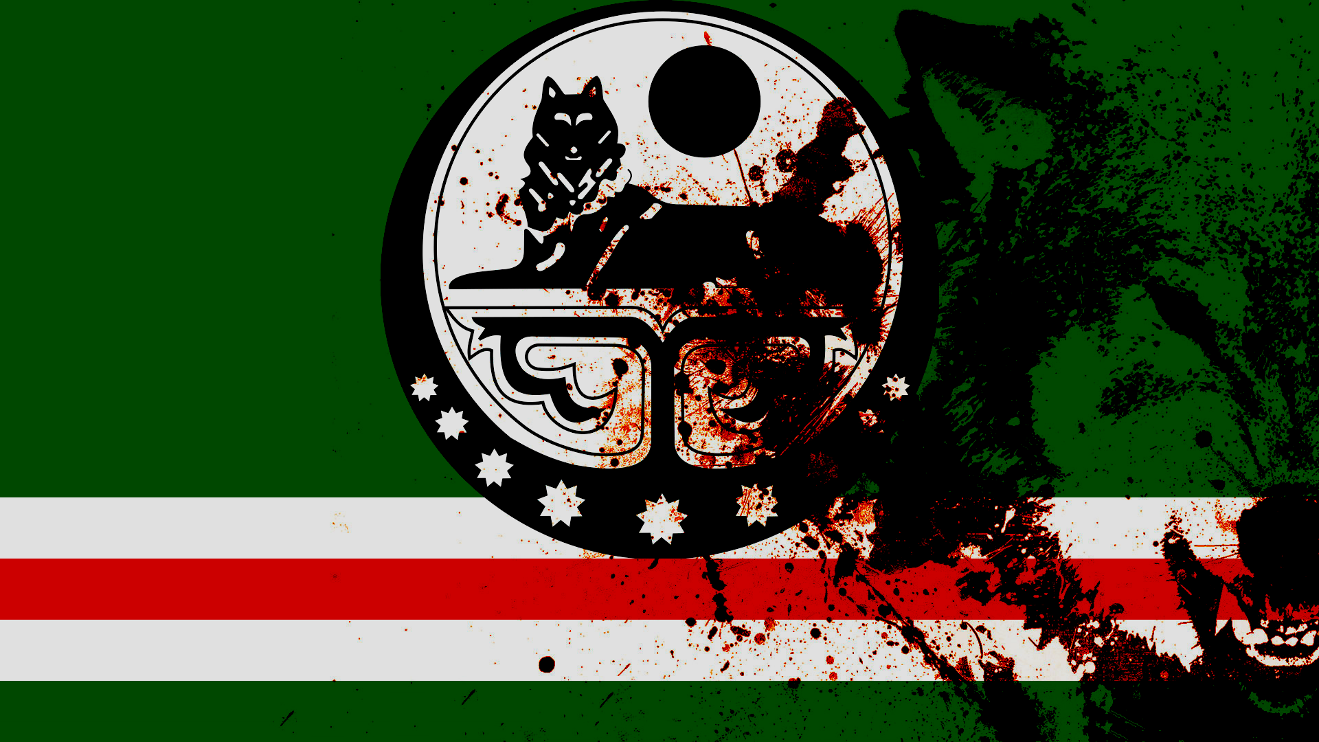 1920x1080 > Flag Of Chechnya Wallpapers