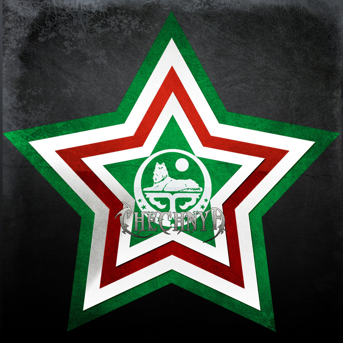 Flag Of Chechnya #5