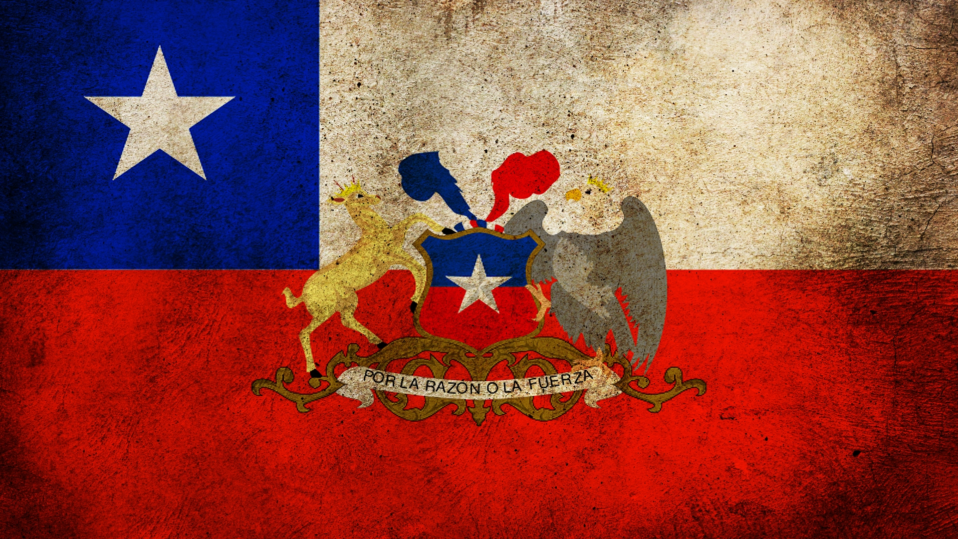 Flag Of Chile Backgrounds, Compatible - PC, Mobile, Gadgets  1920x1080 px