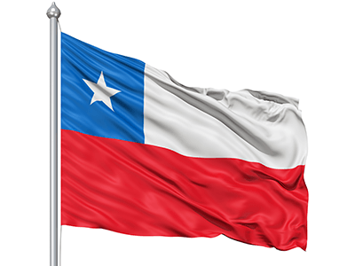 Flag Of Chile Backgrounds, Compatible - PC, Mobile, Gadgets  400x300 px