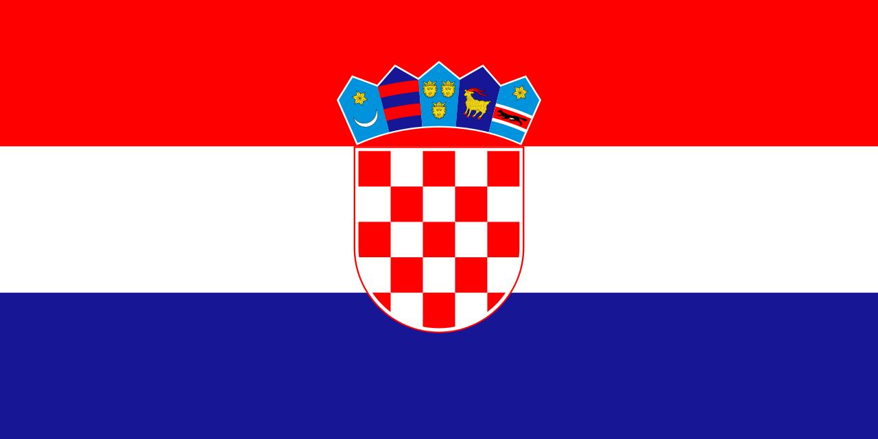Nice wallpapers Flag Of Croatia 1280x640px