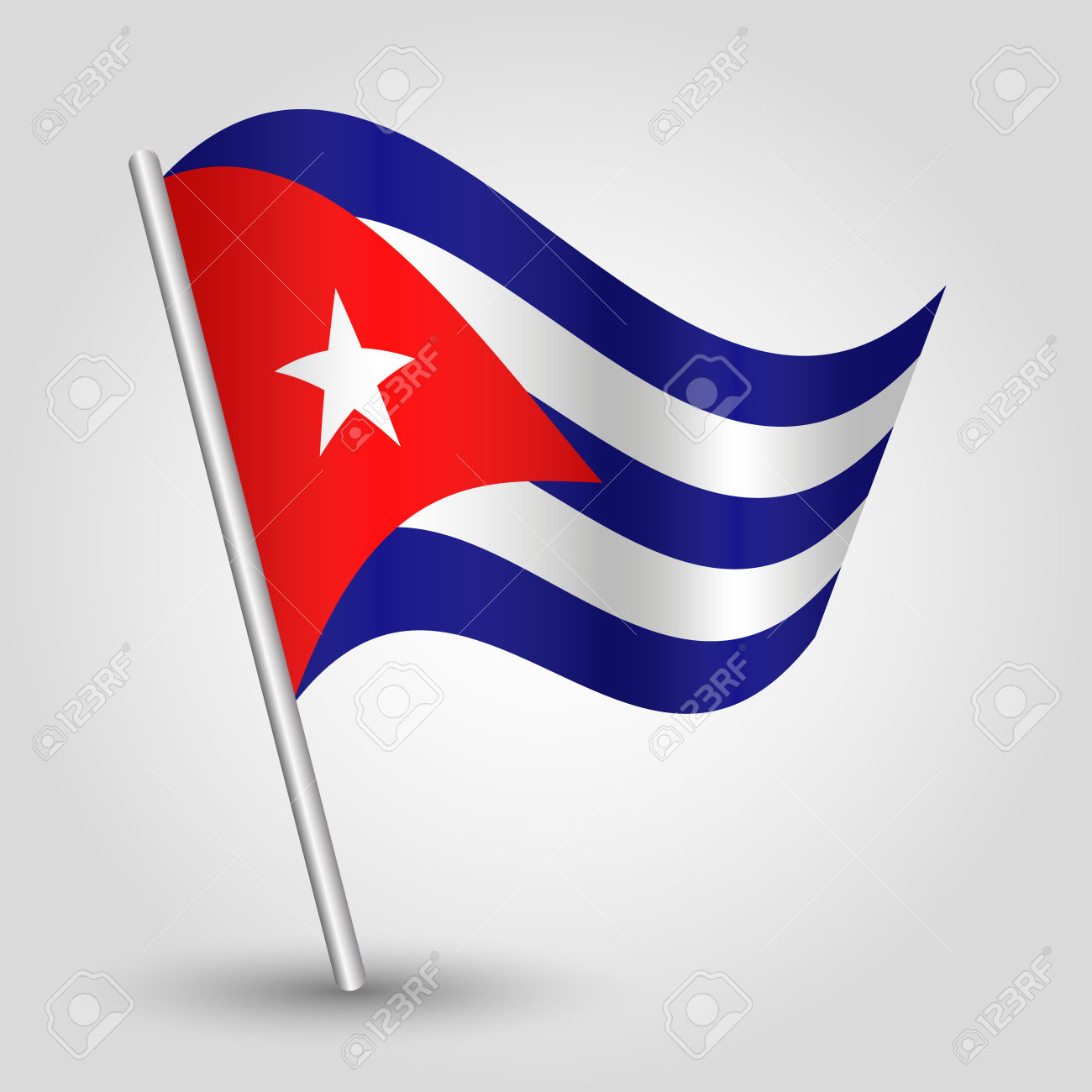 Images of Flag Of Cuba | 1300x1300