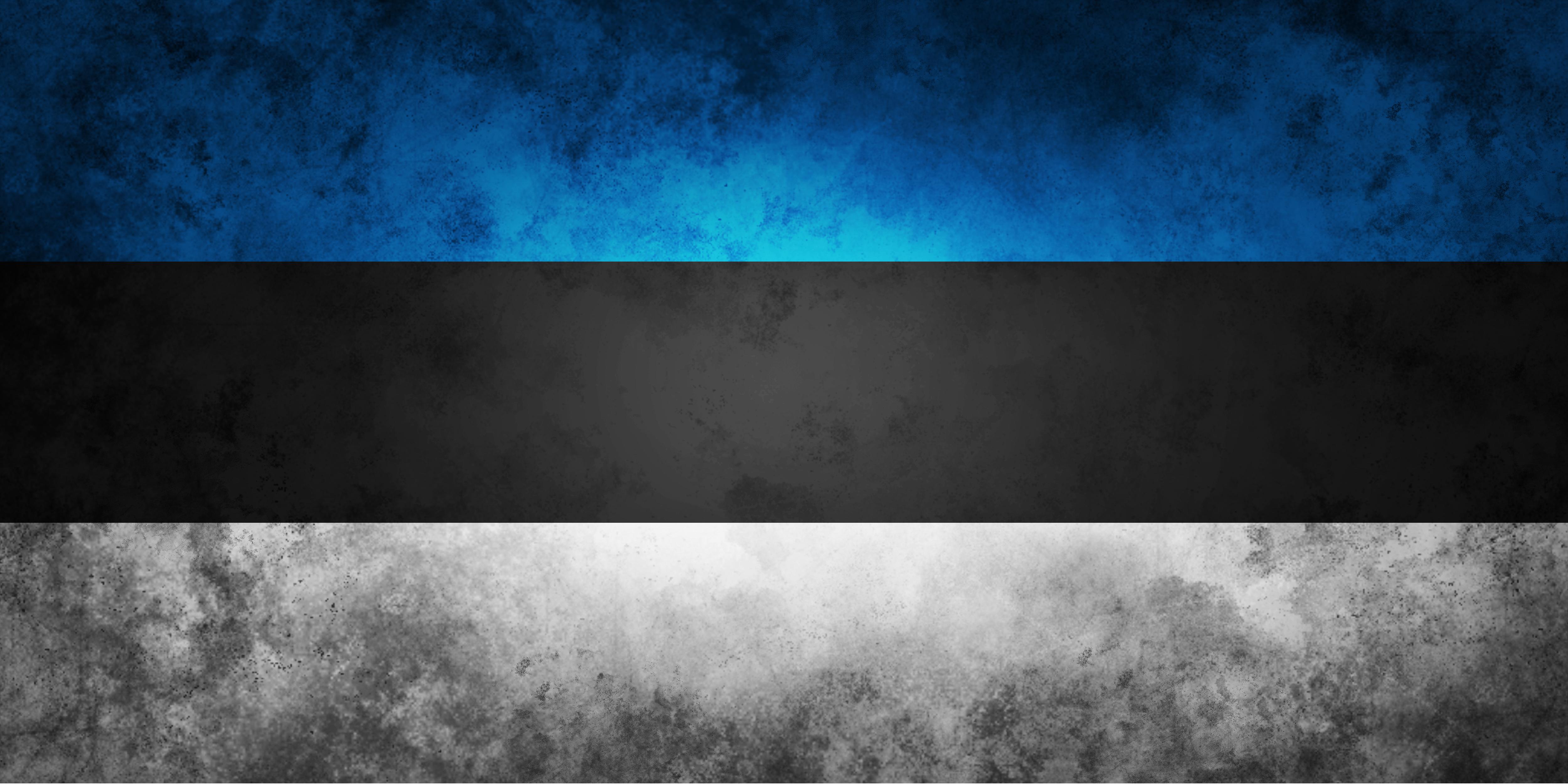 Nice wallpapers Flag Of Estonia 5000x2500px