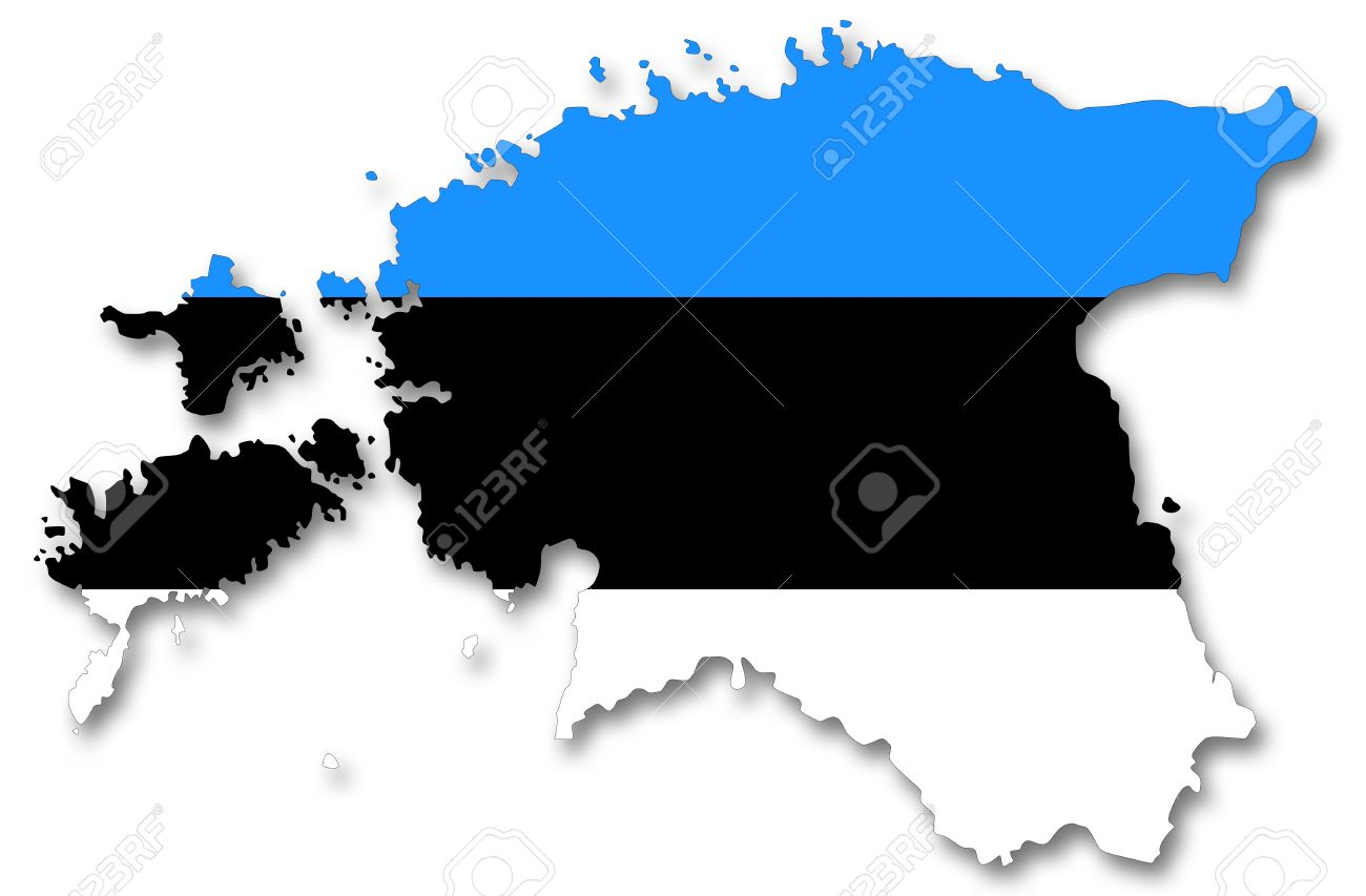 HD Quality Wallpaper | Collection: Misc, 1300x853 Flag Of Estonia