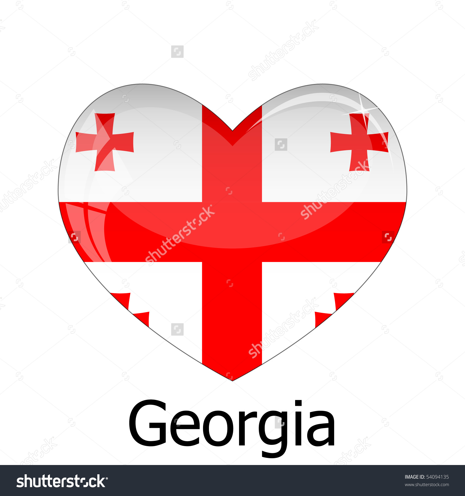 Flag Of Georgia Backgrounds, Compatible - PC, Mobile, Gadgets  1500x1600 px