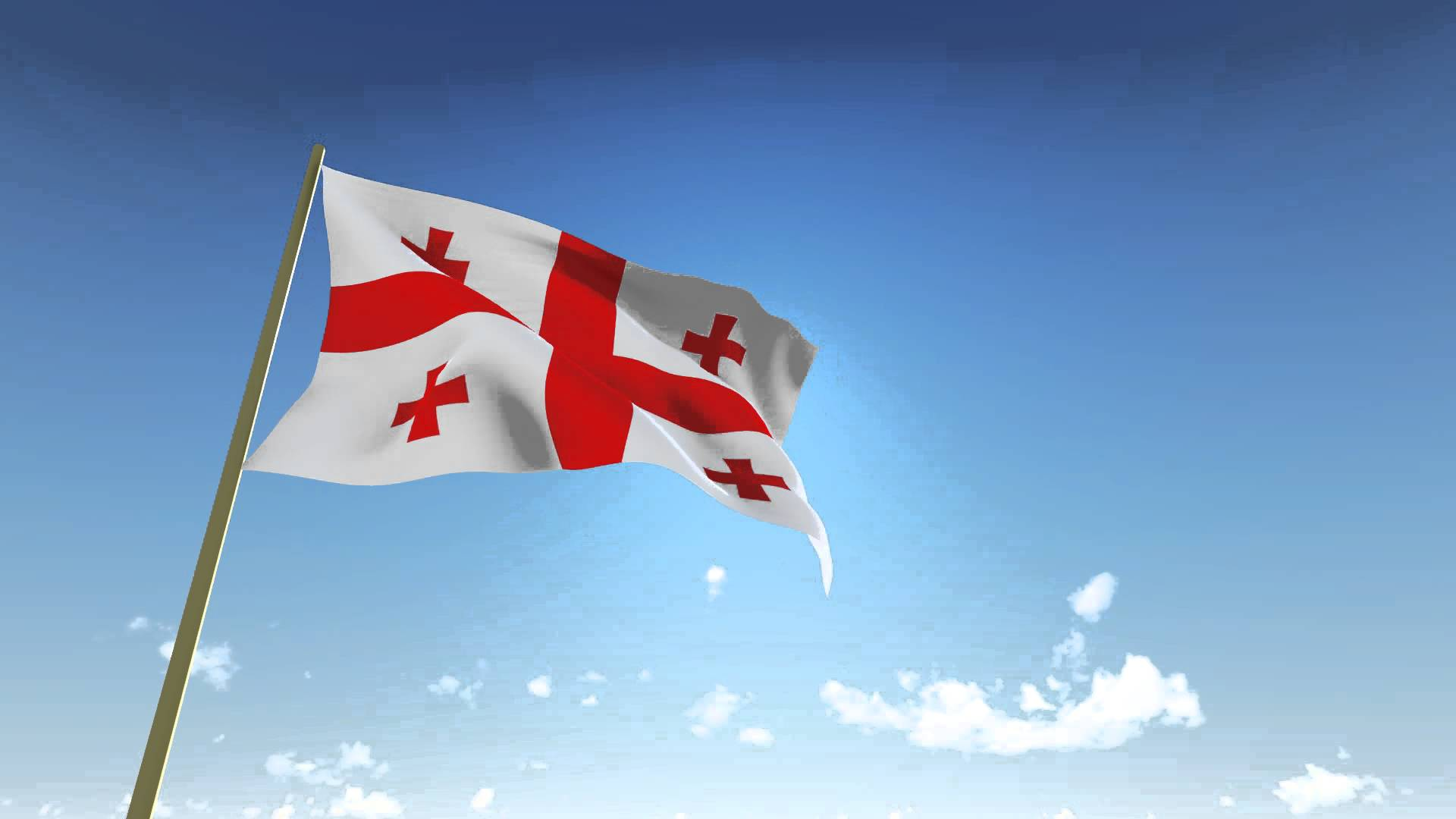 Amazing Flag Of Georgia Pictures & Backgrounds