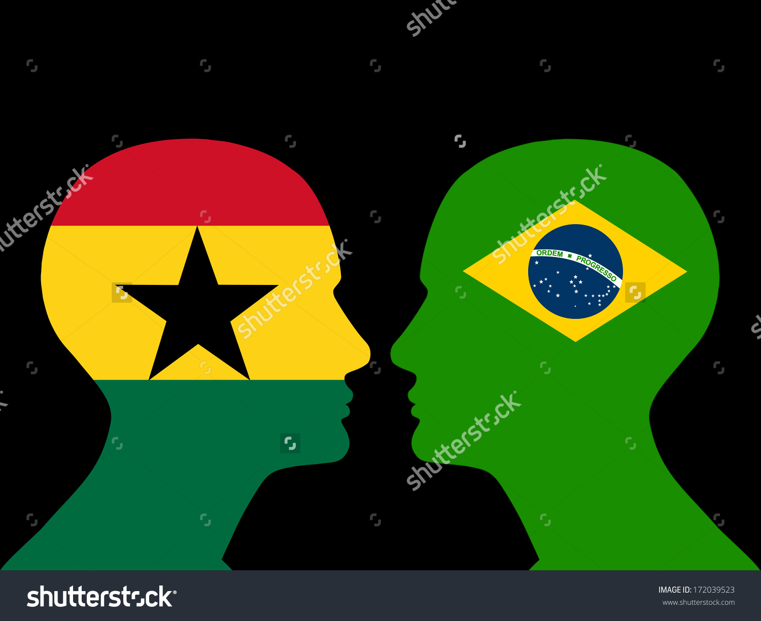 HD Quality Wallpaper | Collection: Misc, 1500x1225 Flag Of Ghana