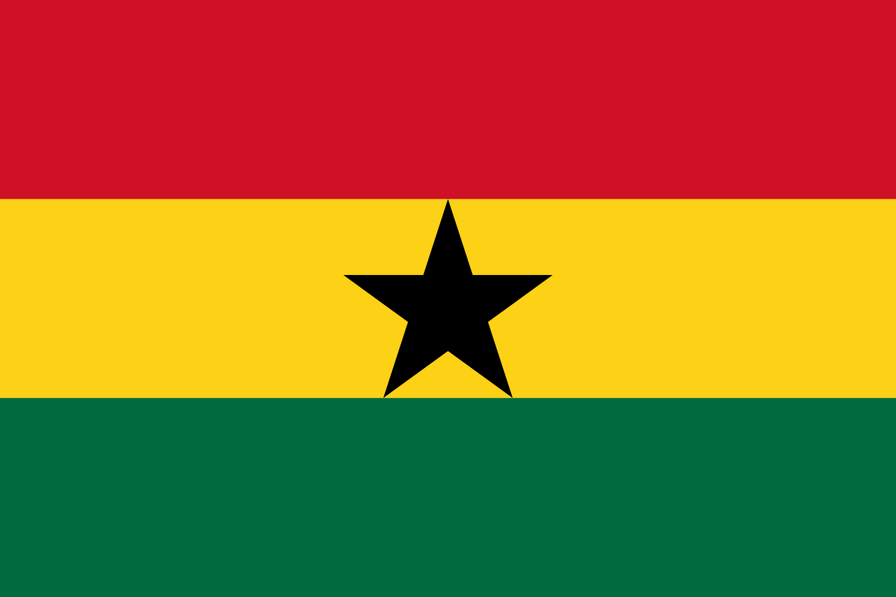 HD Quality Wallpaper | Collection: Misc, 1280x853 Flag Of Ghana