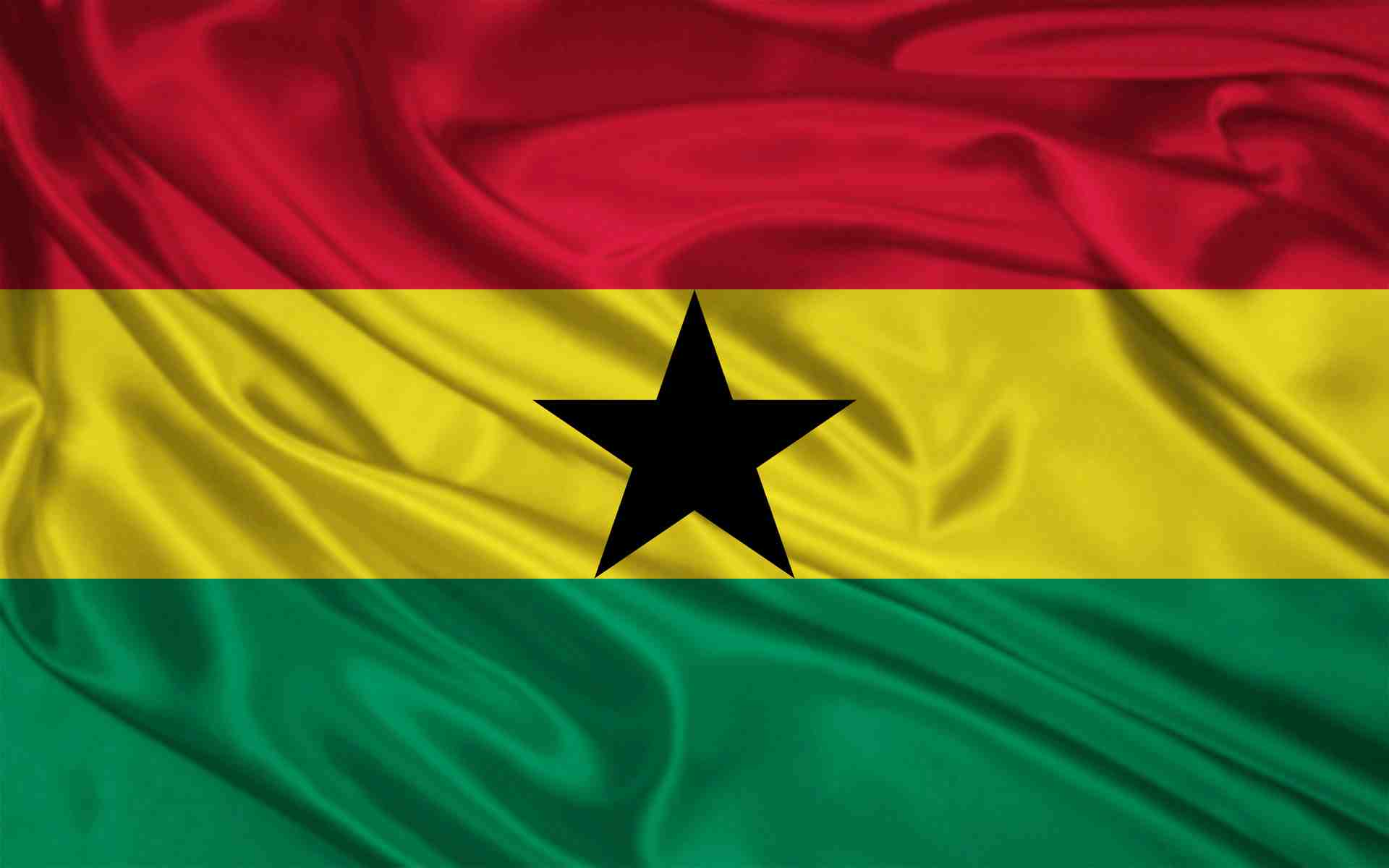 HD Quality Wallpaper | Collection: Misc, 1920x1200 Flag Of Ghana